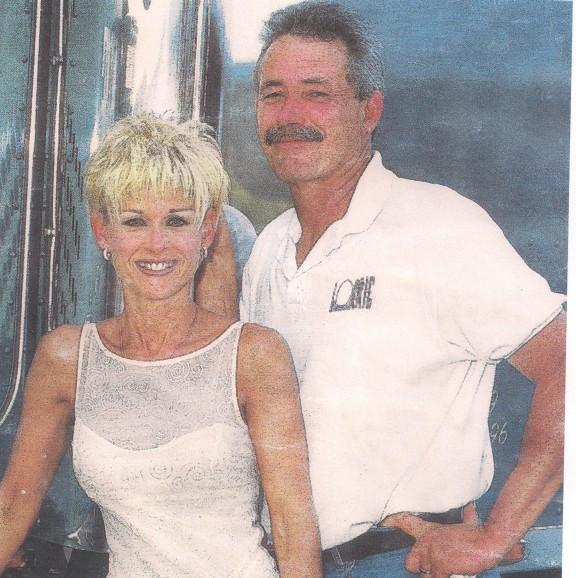 Jack Cummings and Lorrie Morgan